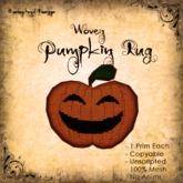 [DDD] Woven Pumpkin Rug