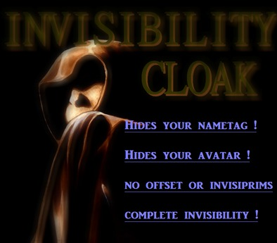 The Official Invisibility Cloak
