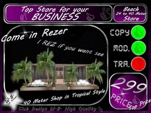 Shop for your Business ~ Club etc.