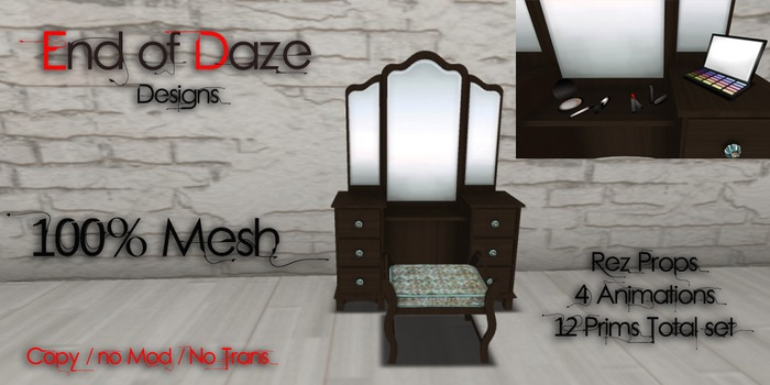 EoD Girly Space Vanity (MESH)