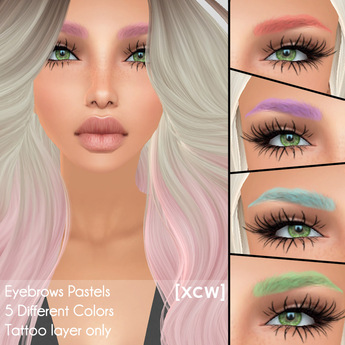 [XCW] Eyebrows Pastels