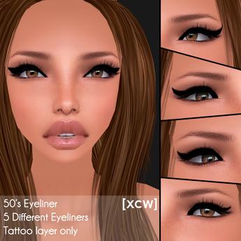 [XCW] 50's Eyeliner