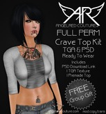 AngelRED - FULL PERM Crave Top Kit [Group Gift]