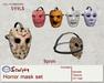 *~M` n B~* Horror Mask set (box)