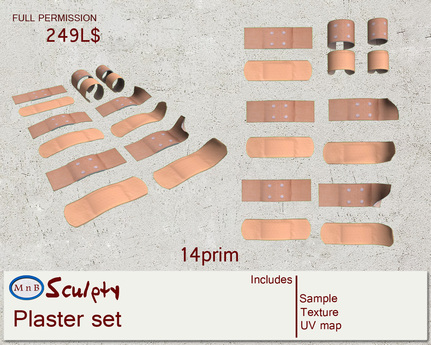 *~M`n B~* Plaster set (box)