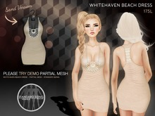 Kyoot - Whitehaven Beach Dress (Mesh) (Sand)