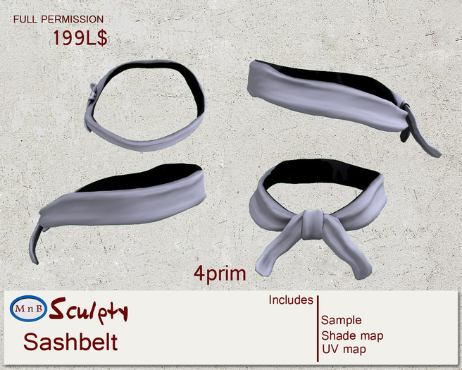 *~M`n B~* Sash Belt 1 (box)