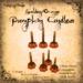 [DDD] Tall Pumpkin Candle Set - G/O