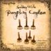 [DDD] Tall Pumpkin Candle Set - G/W