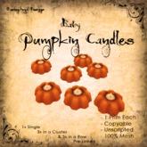 [DDD] Baby Candles - Orange