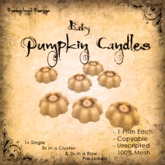 [DDD] Baby Candles - White