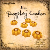 [DDD] Baby Candles - Yellow