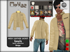 Louis mesh leather jacket ~ Basic collection - Beige