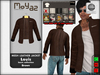 Louis mesh leather jacket ~ Basic collection - Brown