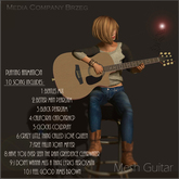 Mesh Guitar with 10 full songs ver.2