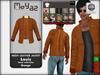 Louis mesh leather jacket ~ Basic collection - Orange