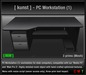[ kunst ] - PC Workstation (1) / black - silver