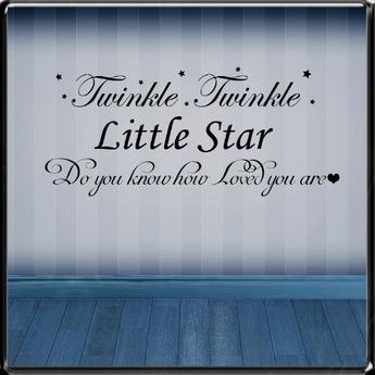 *~LT~*  Twinkle Twinkle  Wall Art Decal