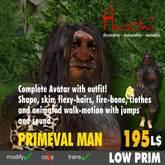 Ugly Avatar: Primeval MAN  (mod/trans)