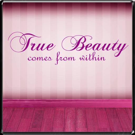 *~LT~* True Beauty Wall Art Decal