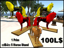 :::IDJ::: 5 Horse Display Stand