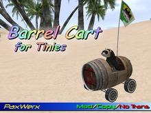Tiny Barrel Cart