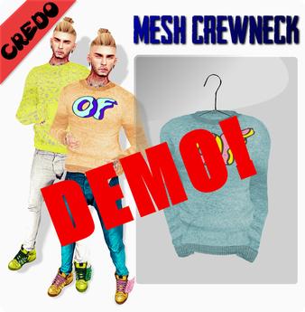 CREDO - Crew Neck DEMO