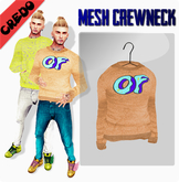 """CREDO - """"Odd Future"""" Crewneck ORANGE"""