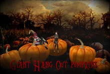 Boudoir Halloween -Giant Hang Out Pumpkins