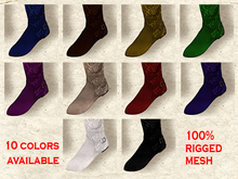 !! MOONSTRUCK !! 426 Flat Over Knee Boots DEMO - Medieval Boots