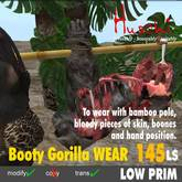 Hunted booty Gorilla - to WEAR for two avatars