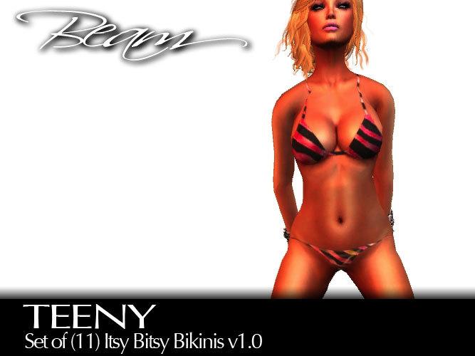 BEAM - TEENY - Set of (11) Itsy Bitsy Bikinis (Boxed) v1.0