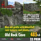 Old Primeval Rock Cave 2012 for sim-corners, 22 Prim