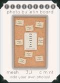 floorplan. - photo bulletin board [ boxed ]