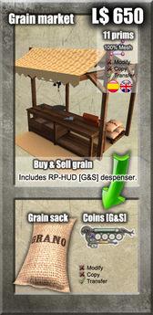 Grain Market / Mercado de grano [G&S]