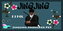 Jingjing Shoulder Pet