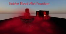 Blood Mist Fountain (Halloween)