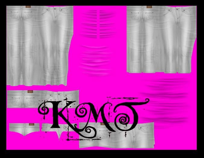 .:::K,M,T:::.Rass Creation Jeans Skirt&Shorts Set Templates