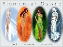 ~ghee~ Elemental Gown Series - Fatpack