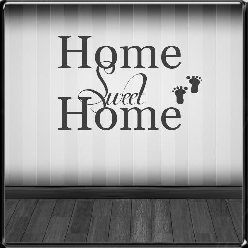 *~LT~* Home Sweet Home Wall Art Decal