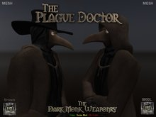 DMW - Mesh Plague Doctor Outfit - Brown