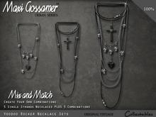 Necklace - Voodoo Rocker Necklace Set
