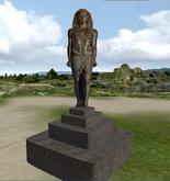 Lookaround egyptian HoloSculpture ANTONIUS Bronce, 2 prim