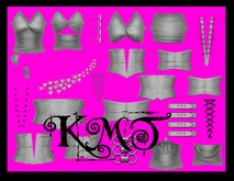 .:::K,M,T:::.Rass Creation Multi Corset Kit Full Perms