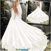 !BH ~ Princess Wedding Gown (Bridal) White