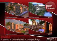AXL pro box - Invidia 4 Seasons Unfurnished House Package