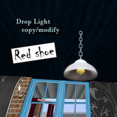::Red Shoe:: drop light (chain)