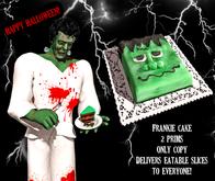 "Halloween cake- Halloween Frankenstein cake animated  ""Frankie"""