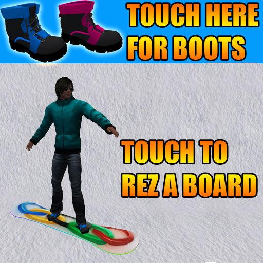 Snowboard Rezzer + 5 board designs