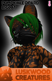 Luskwood Pumpkin Patch Leopard - Female - Complete Furry Avatar